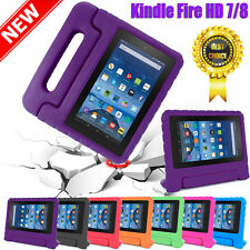 Kids Shock Proof EVA Foam Handle Case Cover For Amazon Kindle Fire HD 7 / 8