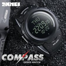 2017 SKMEI Outdoor Sports Compass Watches Hiking Men Watch Digital LED Electroni