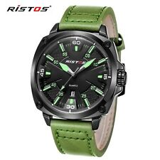 Reloj Hombre 2017 Ristos Fashion Chronograph Sport Mens Watches Top Brand Luxury