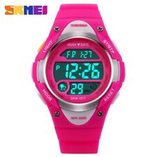 SKMEI Children Watches Cute Kids Watches Sports Cartoon Watch for Girls boys Rub