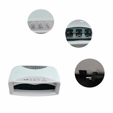 2015 Hot Powerful 220V/ 110V 54W 6 UV Lamps Nail Dryer with Fan Cool Nail Dryer