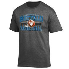 University at Buffalo Basketball NCAA Grey T Shirt By Champion