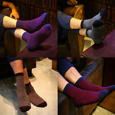 1pairs Men's Casual Ankle Socks Soft Cotton 5 Color US 7~12 One Size Brand New