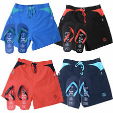 Smith & Jones Mens Buoyant Designer Swim Shorts Holiday Trunks Free Flip Flops