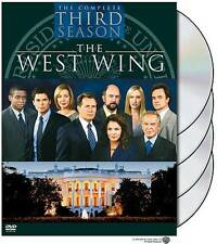 THE WEST WING-THE COMPLETE THIRD SEASON-(DVD, 2004, 4-DISC SET)-NEW & SEALED!