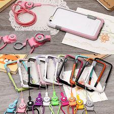 """Cute Rope Soft Strap Silicone Rubber Case Bumper Cover For iPhone 6 4.7"""" Plus"""