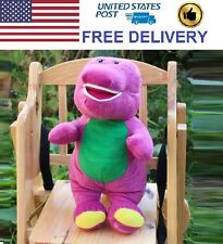 """Save $20 Singing Barney and Friends 12"""" I LOVE YOU Song Plush Toy Doll"""