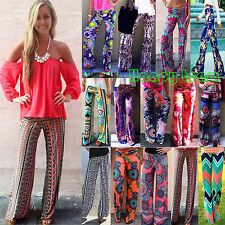 Women Boho Baggy Harem Pants Hippie Wide Leg Gypsy Yoga Long Palazzo Trousers