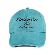 Bride To Be With Date.Baseball Style Cap Hat Bridal Wedding Party Bridesmaids
