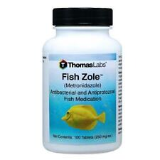 NEW Fish Zole  - 250mg 30ct 60ct 100ct free shipping bottles MADE IN USA