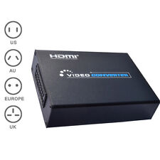 1080P Scart to HDMI Converter Scaler Adapter for HDTV Audio Video Projector Hot