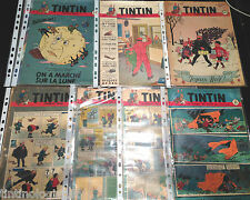 Journal Tintin 1950 & 1951 Vintage Comics - BUY INDIVIDUALLY Herge Couverture