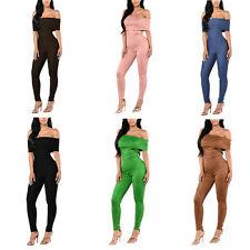 Womens Sexy Strapless Long Pants Jumpsuit Romper Nightout Tracksuit Playsuits