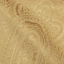 Gold Paisley Fabric By Duralee | Sydney 73020 | Gold 6 | Shimmering Fabric