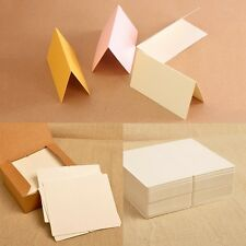 50Pcs Blank Table Name Place Cards Many Colours Christmas Partys Wedding Supply