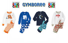 "Gymboree boys ""The World of Eric Carle"" 2 Piece Pajamas New Size 2T 3 4"