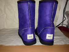 Size 5 Short Purple Pull Up Ugg Boots Youth