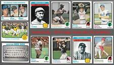 1973 Topps overall EX Condition Baseball Team Sets ** Pick Your Team Set **