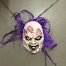 Scary Mask Witch Latex Zombie Mask Monsters Bleeding Mask Halloween Costume Prop