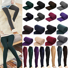 Womens Winter Thick Warm Thermal Stretchy Slim Skinny Leggings Pants Sexy Slacks