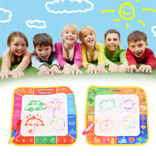 2017 Kids Water Writing Painting Drawing Doodle Mat Board Magic Pen Doodle Toys