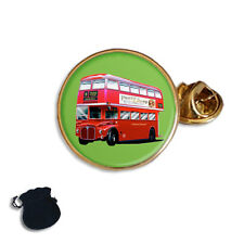 ROUTEMASTER LONDON BUS  ENAMEL LAPEL PIN BADGE GIFT