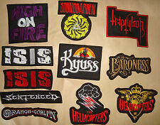 HELLACOPTERS BONGZILLA ISIS BARONESS KYUSS TRIPTYKON OBSESSED Embroidered PATCH