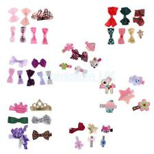 Ribbon Bow Flower Mixed Design Baby Girls Toddler Hair Clips Hair Accessories