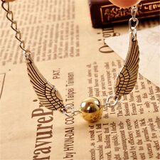 Harry Potter HALLOWS  Bracelet Antique Wings Golden Snitch Gift Bangle Wristband