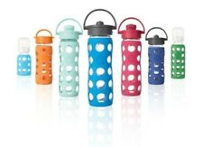 LifeFactory Glass Water Bottles & Baby Bottles 8 Styles to Choose From!!