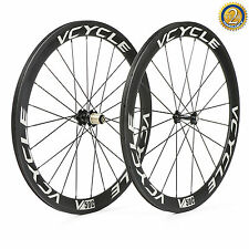 New Type Vcycle 50mm Clincher Road Bike/Bicycle Wheel 23mm Width Carbon Wheelset