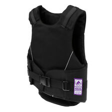 Flexible Safety Horse Riding Vest Equestrian Sports Protector Black for Kids
