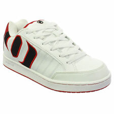Animal Mens Mitch White Red Trainers Shoes Size 7-12