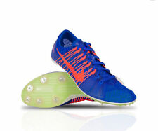 New Mens Nike Zoom Victory 2 Spikes Running Shoes sz 12 Blue Crimson 555365-487