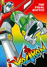 VOLTRON DEFENDER OF THE UNIVERSE -- THE FINAL BATTLE -- NEW & SEALED - DVD