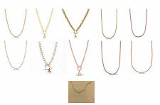 GENUINE ORIGAMI OWL CHAINS ~ GOLD, ROSE GOLD ~ VARIOUS LENGTHS & STYLES ~ NEW