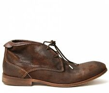 Hudson  Mens Boots 4613 - 2 Cruise Chukka Suede -Brown