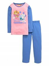 Girls Paw Patrol Pyjama Set Official Nickelodeon in Lilac and Pink