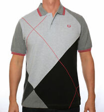 Fred Perry Tipped Harlequin Polo Shirt