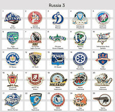 Ice Hockey Pin Badge Russia KHL VLH MHL All Russian Clubs PART 3
