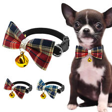 Cute Bowknot Collar Dog Necklace Collar With A Bell For Kitten Puppy Accessories