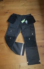 apache work trousers with knee pad holster pockets 34w 33L sim.snickers workwear
