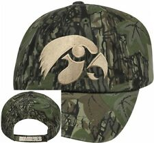 Iowa Hawkeyes NCAA Licensed Camouflage Camo Embroidered Logo Baseball Hat Cap