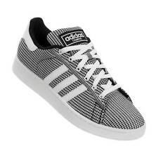 Adidas Campus Mesh Black/White F37667 New Mens Casual Shoes/Sneakers