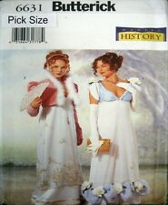 Butterick Sewing Pattern 6631 Ladies 18-22 Titanic Victorian Dress Costume
