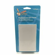 FlyWeb Replacement Glue Cards (Boards / Pads) for Fly Web Insect Light Traps