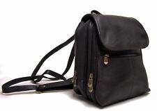 Le Donne Everything Womans Leather Backpack / Purse