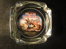 ASHTRAY IRON MAIDEN  ,GIVE IT AS A GIFT !LIGHTER WICK FLINT& LIGHTER FLUID !
