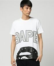 A BATHING APE Men's BAPE HALF APE HEAD TEE New