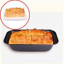 Rectangle Non-stick Toast Bread Cake Baking Mold Loaf Tin Steel Bakeware Pan DIY
